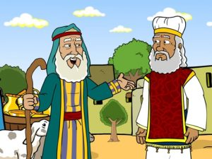 Abraham, Sodom and Melchizedek, 31 Bible images for kindergarten, kindergarten expert