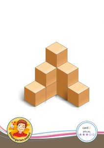 Buiding card 2, difficulty 3 for block area, for kindergarten and preschool, kindergarten.expert
