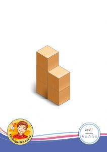 Buiding card 7, difficulty 1 for block area, for kindergarten and preschool, kindergarten.expert