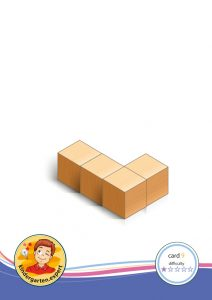 Buiding card 9, difficulty 1 for block area, for kindergarten and preschool, kindergarten.expert