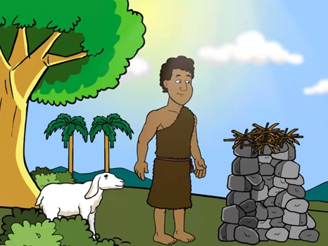 Cain and Abel, Genesis 4 1-16, 20 free Bible images for kids, kindergarten expert