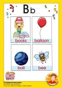 Early Childhood Sight Words, letter b, for kindergarten, kindergarten expert, free prinatble