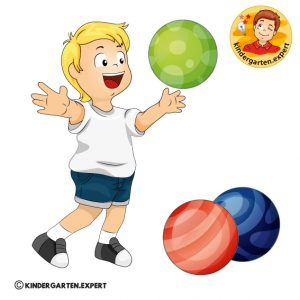 Lessons with balls for kindergarten, kindergarten.expert