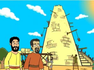 The tower of Babel Babel, 20 Free Bible images for kindergarten, Kindergarten.expert