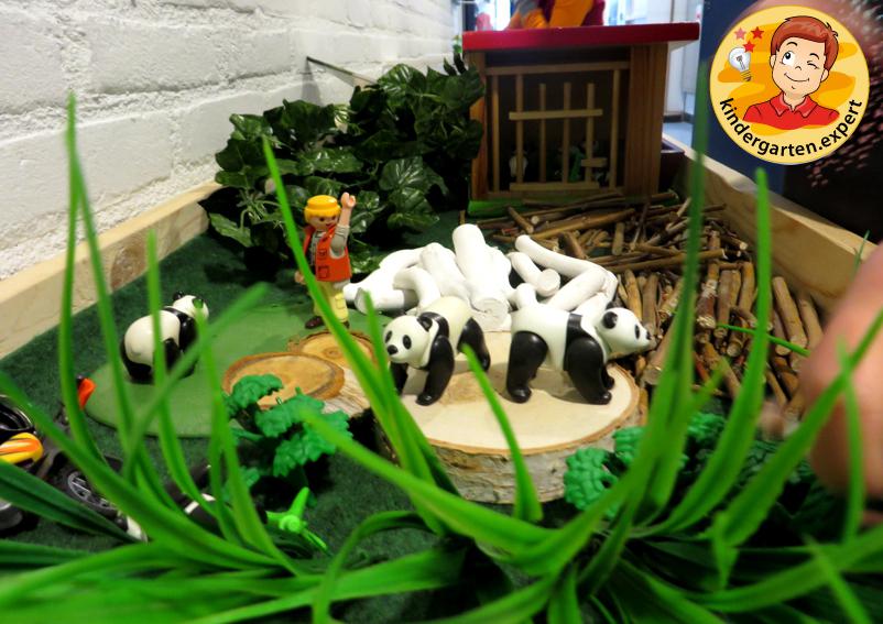 Panda nanny 1, theme table, China theme, kindergarten.expert