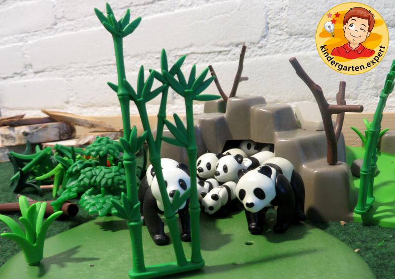 Panda nanny 2, theme table, China theme, kindergarten expert