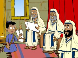 The boy Jesus in the temple, 25 bible images for kids, kindergarten.expert