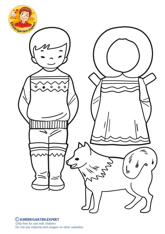 Eskimo Boy, kindergarten expert