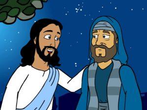 Nicodemus, bible images for kids, kindergarten expert