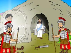 The resurrection, bible images for kids, kindergarten expert