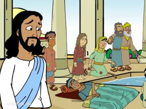 The Healing at the Pool of Bethesda, bible images for kids, kindergarten expert