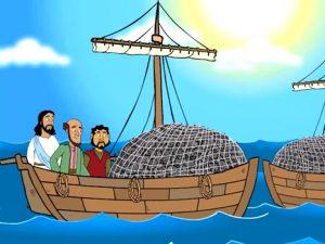 Jesus Calls His First Disciples, bible images for kids, kindergarten expert