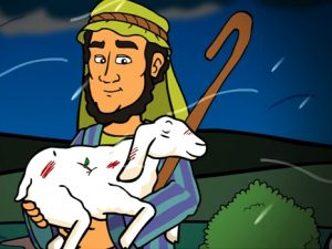 The lost sheep, bible images for kids, kindergarten expert