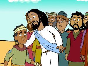 The ten lepers, bible images for kids, kindergarten expert