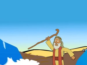 Crossing the red sea, bible images for kids, kindergarten expert