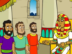 Joseph and his brothers in Egypt, bible images for kids, kindergarten expert