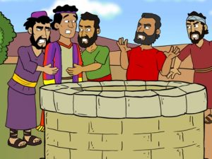 Joseph send to Egypt, bible images for kids, kindergarten expert