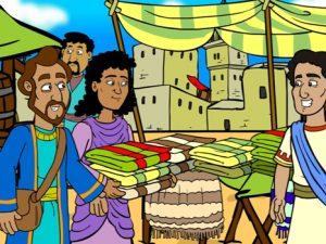 Priscilla and Aquila, bible images for kids, kindergarten expert