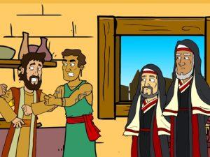 Paul in Berea, bible images for kids, kindergarten expert