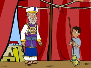 Samuel, speak, Lord, for Your servant is listening, bible images for kids, kindergarten expert
