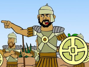 Ziklag destroyed by the Amalekites, bible images for kids, kindergarten expert