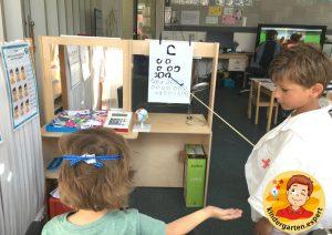 Roleplay optician 1, eye theme, kindergarten expert