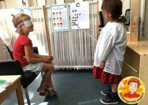 Roleplay optician 10, eye theme, kindergarten expert