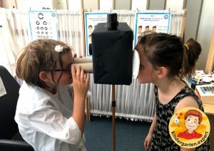 Roleplay optician 11, eye theme, kindergarten expert