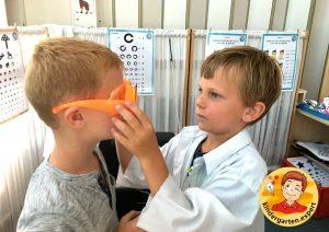 Roleplay optician 3, eye theme, kindergarten expert