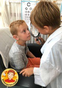 Roleplay optician 4, eye theme, kindergarten expert