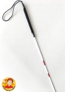 Making a white cane 2, eye theme, kindergarten expert