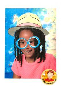 Making glasses for yourself 1, eye theme, kindergarten expert