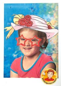 Making glasses for yourself 3, eye theme, kindergarten expert