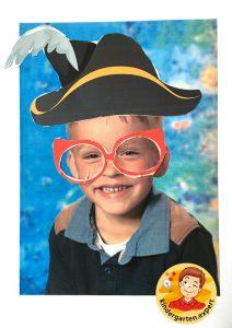 Making glasses for yourself 5, eye theme, kindergarten expert