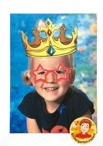 Making glasses for yourself 6, eye theme, kindergarten expert
